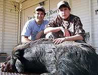 Hunting Hogs in the texas hill country