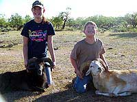 Exotic Youth hunt in texas hill country