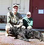 Hog hunting in the Rocky Hills of The Central Counties in Texas