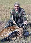 Axis Bucks Hunted in the mountainous hills of Central Texas
