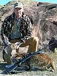 Axis Doe Hunts in the the Tx Hill Country around Mason County