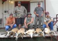 Fun Bachelor Party hunt group in Mason, TX