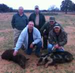 group hunt for wild hogs