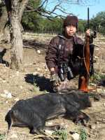 hill country hog hunt rifle