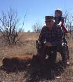 red deer hunt brush country