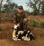 youth hunt for rams in Texas Hill Country