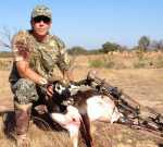 blackbuck antelope bow hunting