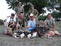 Group Hunts for Trophies at The Wildlife Ranch
