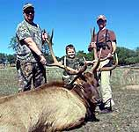 Trophy Elk Hunts in the Granite hills of Central Texas